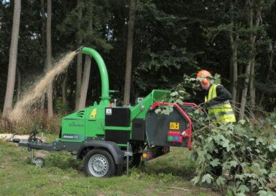 Prívesný štiepkovač GreenMech Arborist 130