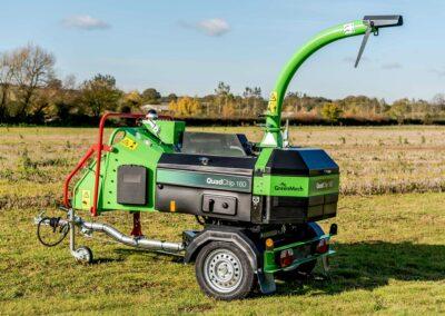 Štiepkovače GreenMech QuadChip 160 a Quadtrak 160