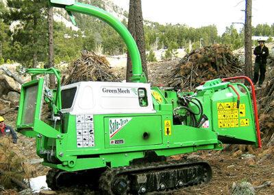 Štiepkovač GreenMech Safe-Trak STC 16-23
