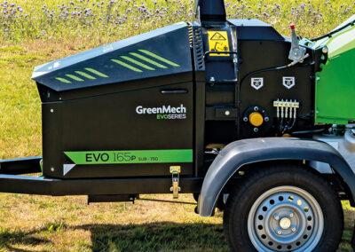 Štiepkovač GreenMech EVO 165P SUB 750